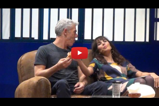 Biagio Izzo e Rocío Muñoz Morales in Di Che ti manda Picone