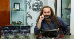 Carmine Aymone autore del libro Holliwood, morte e misteri delle star. Foto di Giuseppe D'Anna.