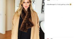 Chiara Ferragni, critiche per il post su Instagram con il visone
