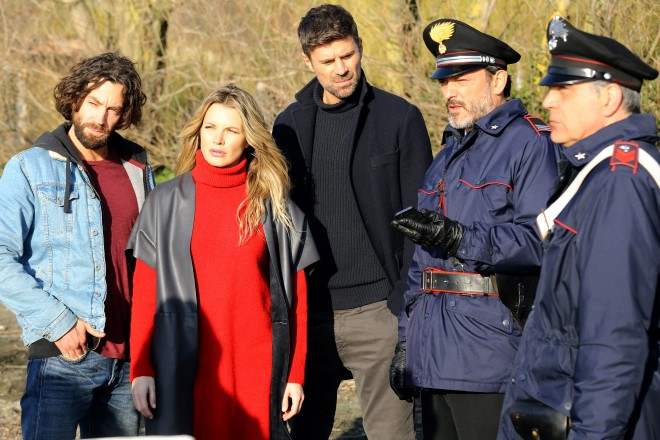 Giulio Pampiglione (Antonio Mancini), Licia Nuez (Elena Monteforte) e Fabio Fulco (Fabio Astori)