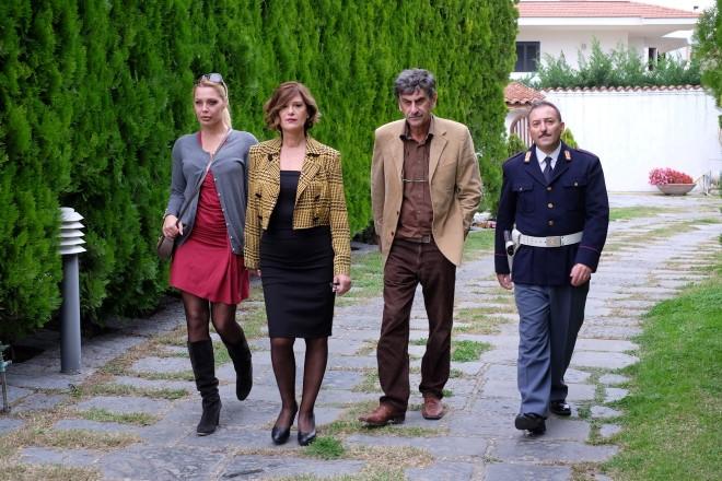 Il cast di Una semplice verità. Foto Ufficio Stampa.