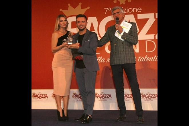 Il premio ad Andrea Sannino
