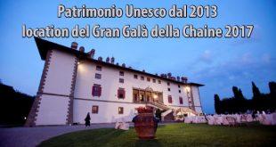 La Villa dei Cento Camini, Patrimonio Unesco dal 2013, location del Gran Galà della Chaine 2017