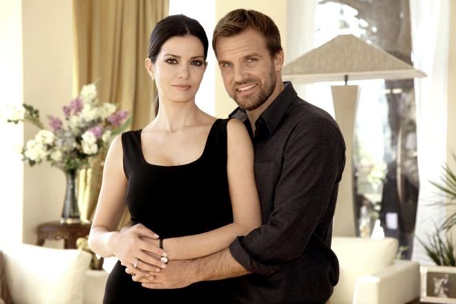 Laura Torrisi (Lucrezia Farnese Astori) e Danilo Brugia (Ivan Astori)