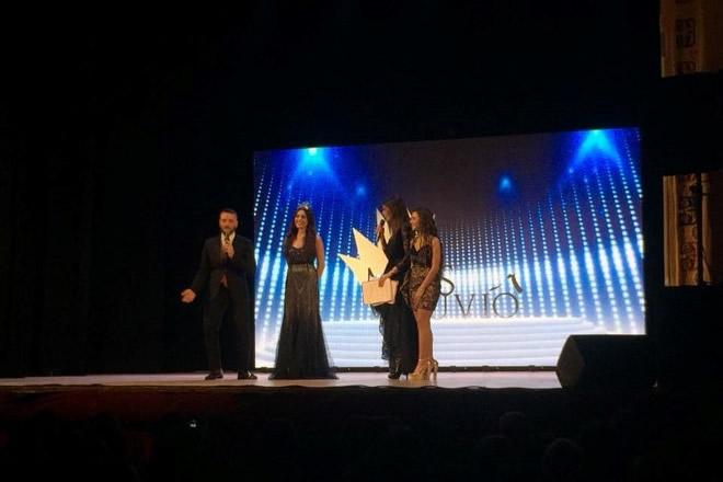 Laura Mosca incoronata lo scorso anno come Miss Vesuvio 2016. Foto di Angela Acanfora.