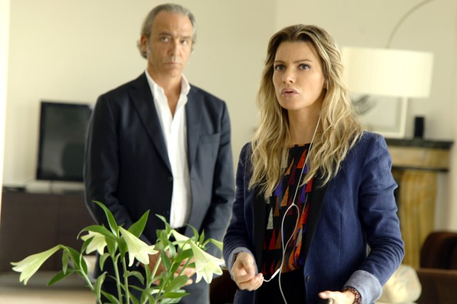 Luca Ward (Ruggero Camerana) e Licia Nunez (Elena Monforte)