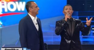 Marco Carta è Pharrell Williams a Tale e Quale Show