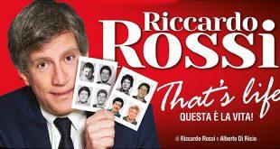 Riccardo Rossi in That's Life, Questa è la Vita su Comedy