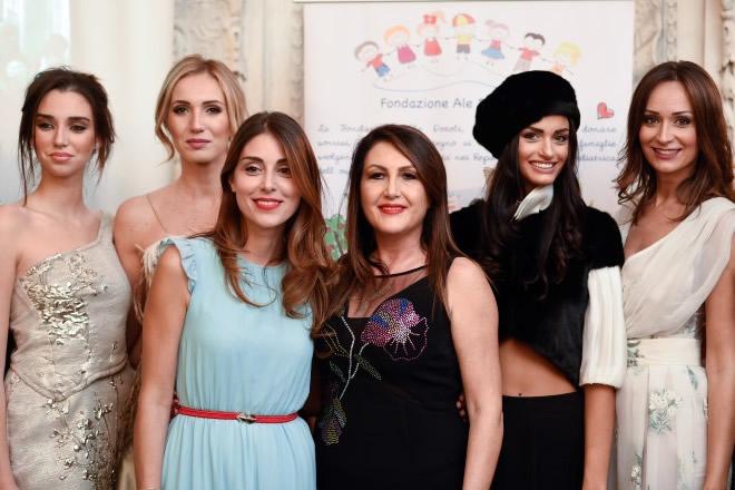 Tersige Cerrone e Miriam Candurro, insieme allo scorso Charity Gala di Napoli.