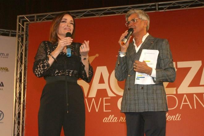 Valentina Stella con Dino Piacenti