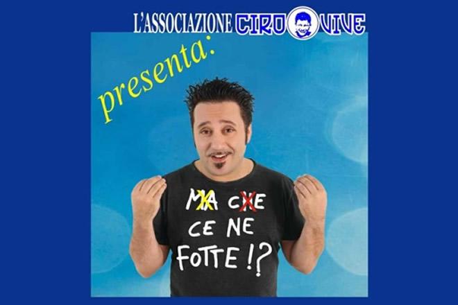 Alessandro Bolide per l'Associazione di Ciro Vive a favore di Ciro Esposito