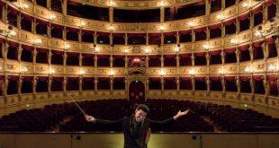 Ezio Bosso. Foto di Fabrizio Giraldi. Fonte Pagina Facebook.