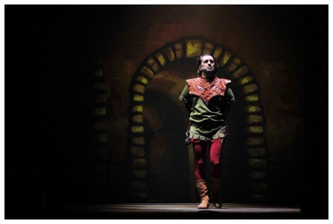 Foto di scena del musical Robin Hood