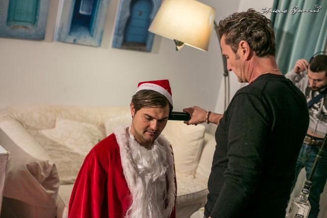 Immagine dal set