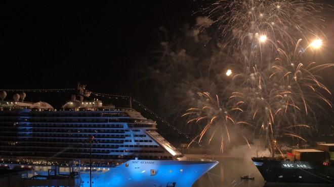 Inaugurazione di MSC Seaside a Miami. Foto da Ufficio Stampa.