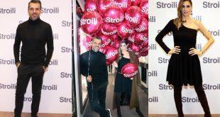 Melissa Satta e Luca Argentero per l'opening di Stroili a Milano