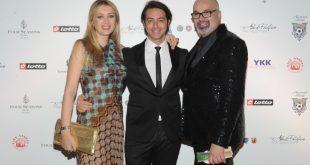 Paola Galloni, Alex Pacifico e Giovanni Ciacci per la Nazionale Stilisti. Foto Ufficio Stampa.