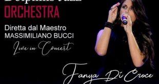 Fanya Di Croce live con la Dolpins Jazz Orchestra