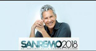 Festival di Sanremo 2018 con Claudio Baglioni