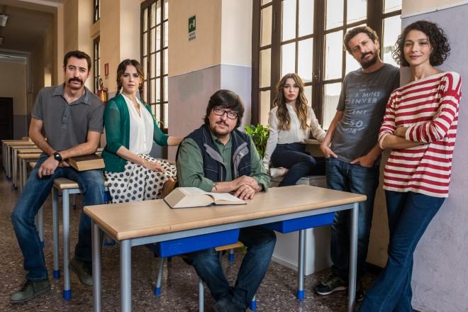 Il cast di Immaturi - La Serie. Foto Ufficio Stampa.