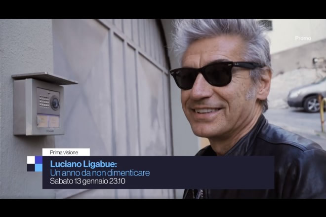 Luciano Ligabue in Un anno da non dimenticare