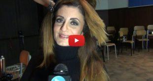 Maria Bolignano, intervista nel backstage