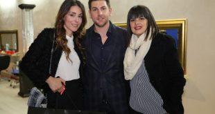 Miriam Candurro, Alessandro Legora e Silvia Mezzanotte al Fashion Show Fall-Winter 2017-18
