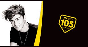 Riki a Radio 105. Foto da Facebook