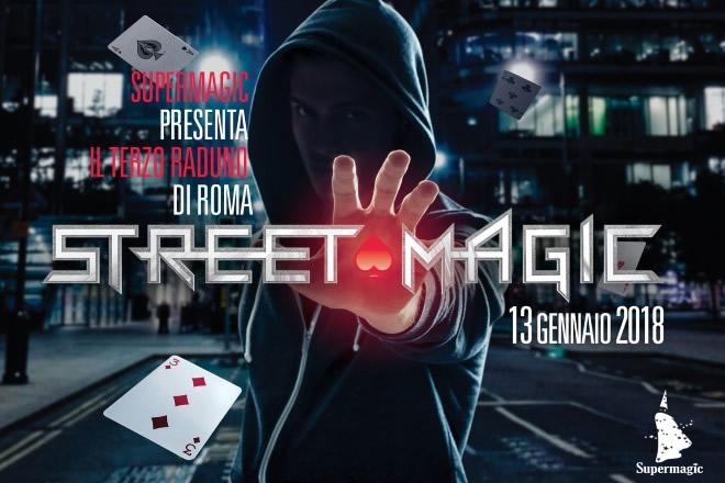 Supermagic, raduno Street Magic 2018