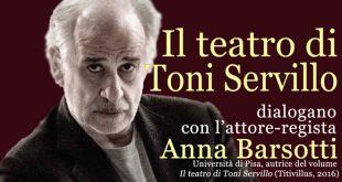 Toni Servillo alla Biblioteca Nazionale di Napoli