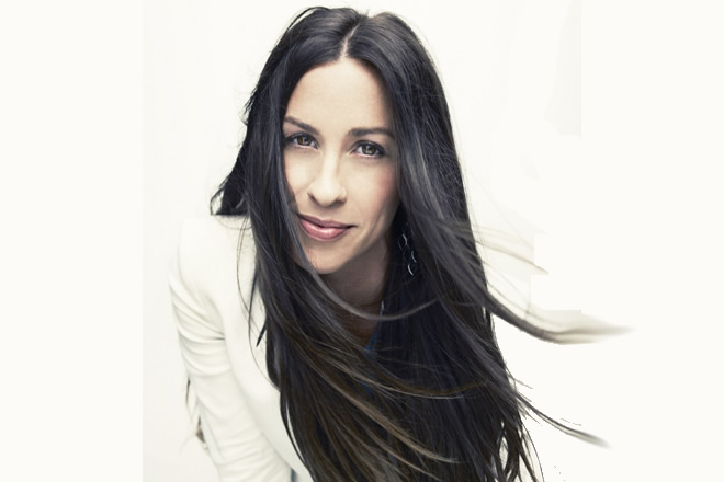 Alanis Morissette. Foto di Williams & Hirakawa.