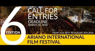 Ariano International Film Festival - Bando 2018