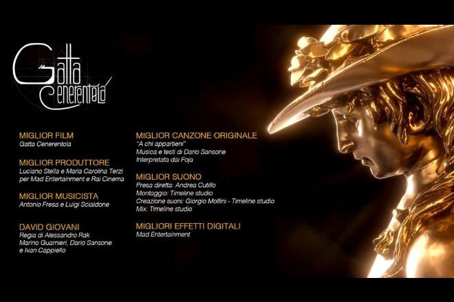 Gatta Cenerentola - Nomination ai David di Donatello