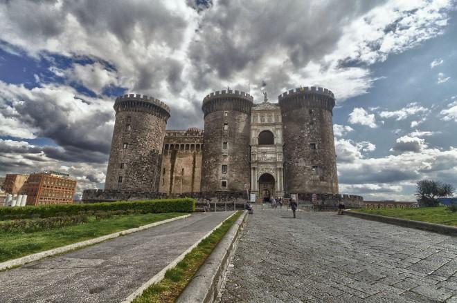 Il Maschio Angioino di Napoli. Foto Ufficio Stampa