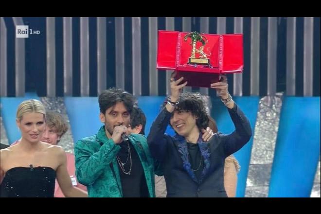 La vittoria di Ermal Meta e Fabrizio Moro