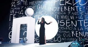 Laura Pausini al Prmeio Lo Nuestro