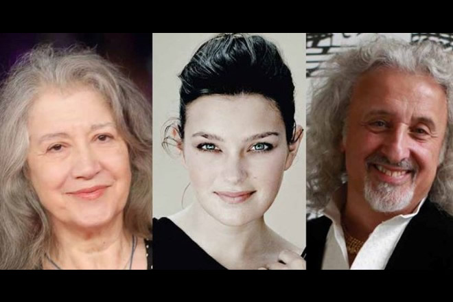 Martha Argerich, Janine Jansen, Mischa Maisky, Anthony Phillips