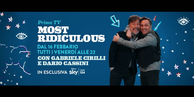 Most Ridiculous con Gabriele Girilli e Dario Cassini su Comedy Central