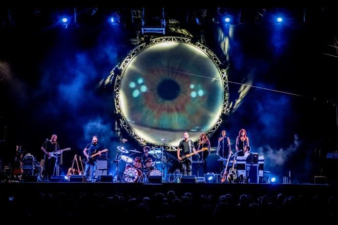 Pink Floyd Legend live. Foto di Roberto Scorta.