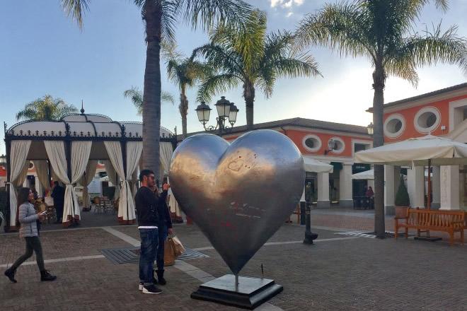 San Valentino a La Reggia Designer Outlet