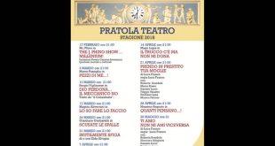 Teatro Comunale di Pratola Peligna, stagione teatrale 2018