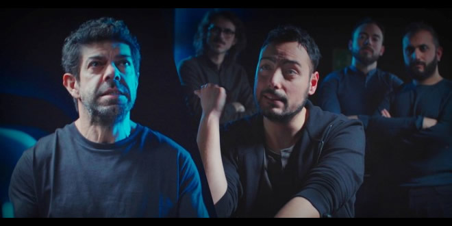 The Jackal con il loro GniGni per Operazione Sanremo. Foto da Facebook
