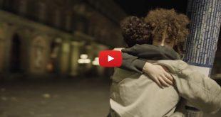 Un frame dal video di Annarè con Ivan Granatino e Raffaella Affinito
