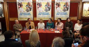Conferenza Stampa di Operazione San Gennaro, la leggendo. Foto di Giancarlo Cantone.