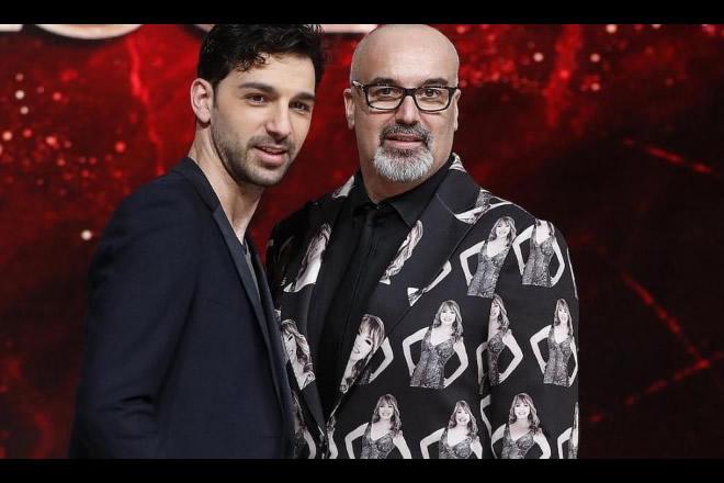 Giovanni Ciacci e Raimondo Todaro per Ballando con le Stelle. Foto dal Web.