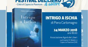 Il primo appuntamento del Festival del Libro d'Autore Città di Capaccio - Paestum