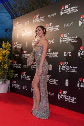 Lorella Boccia al Monte Carlo Film Festival 2018.  Foto da Ufficio Stampa.