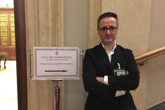 Intervista a Luca Martera, autore, regista e studioso di mass-media tra Italia e Stati Uniti che presenta la sua conferenza stampa al PAN di Napoli.