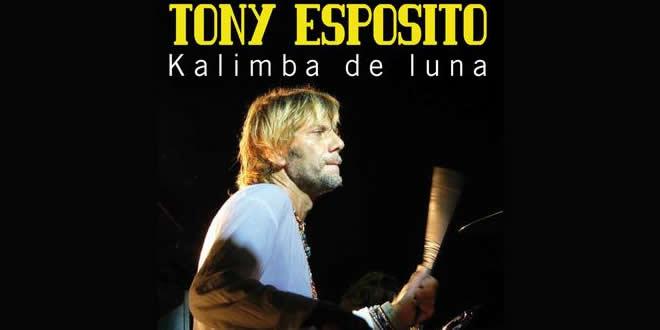 """Tony Esposito presenta una nuova versione di Kalimba de luna, traibrani maggiormente ballati e cantati dei """"famosi anni '80"""", attuale ed amato anche a distanza di anni."""