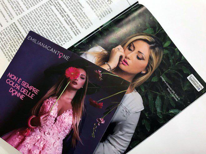 """Il nuovo album di Emiliana Cantone, artista napoletana che si fa sempre più spazio nel largo panorama nazionale, prende il titolo di """"Non è sempre colpa delle donne""""."""